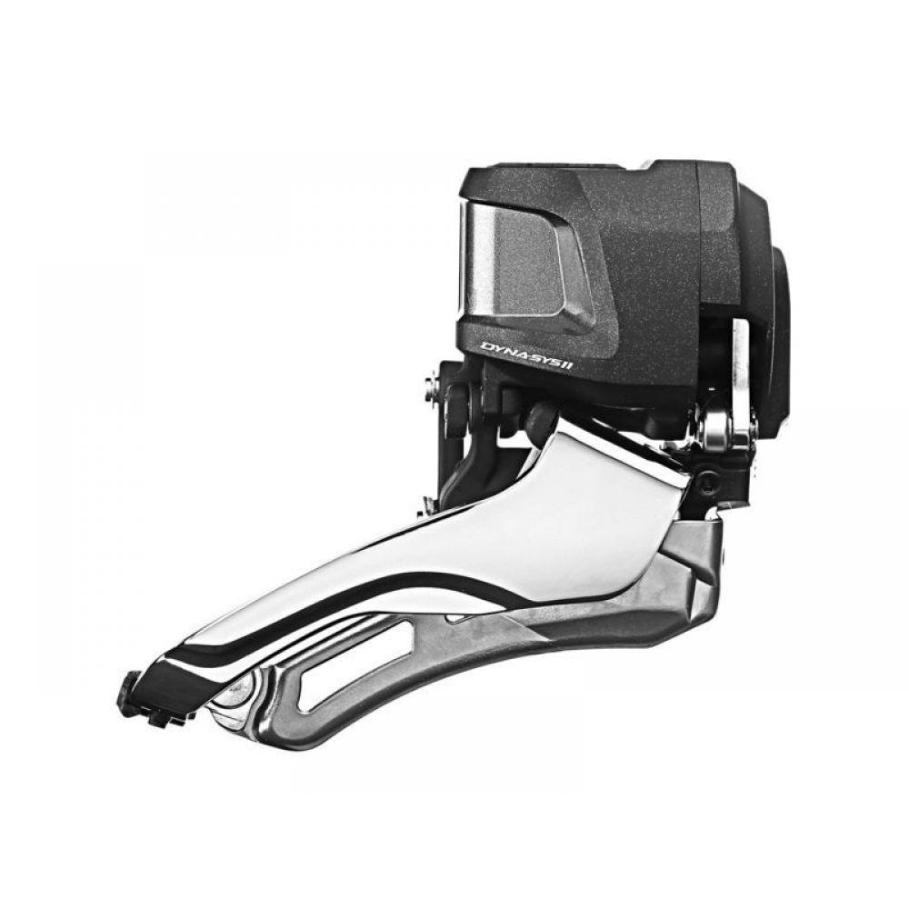 Переключатель передний Shimano XTR Di2 M9070, 2 x 11 скоростей, для 38-34T, без FD905IFDM9070Переключатель передний Shimano XTR FD-M9070, для трансмиссии 2x11 скоростей, для 38-34T, без FD905.