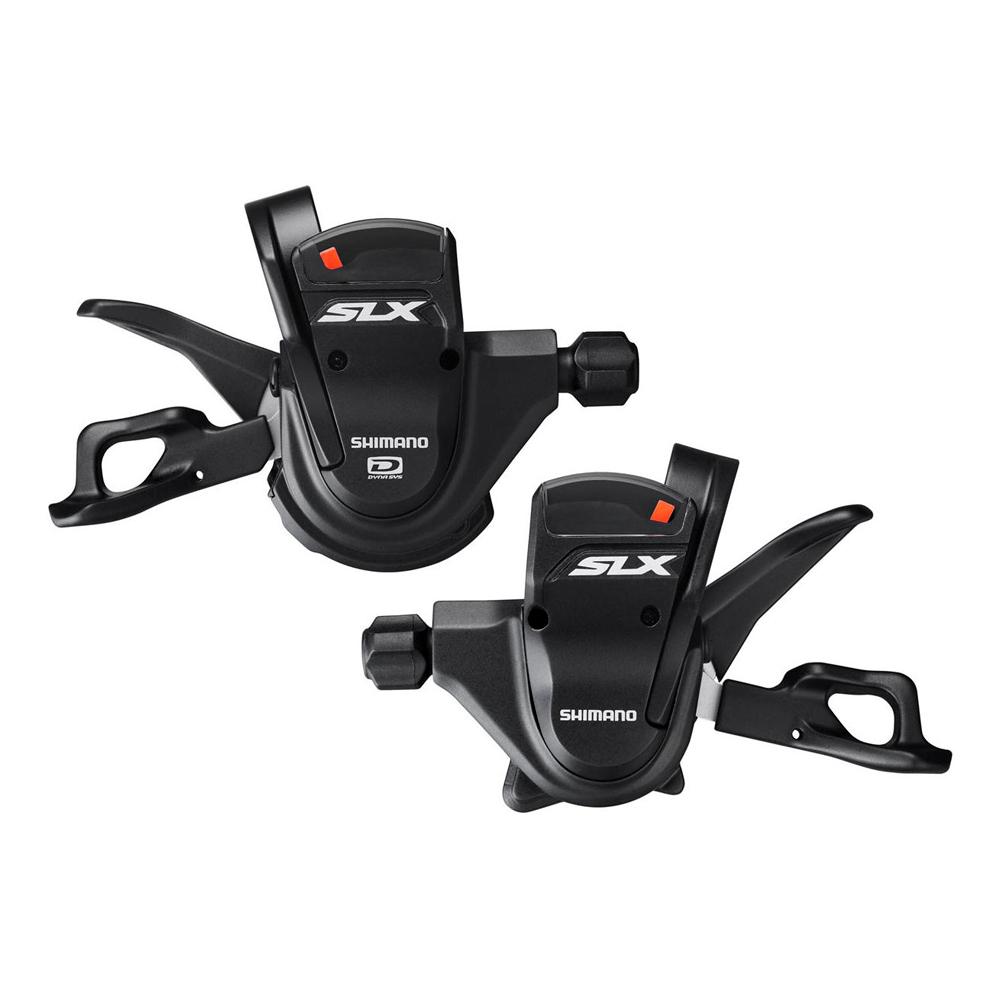 Шифтер Shimano SLX M670, 2/3 x 10 скоростейISLM670PAШифтер Shimano SLX SL-M670 RAPIDFIRE Plus (10 скоростной), комплект, 2/3х10 скоростей (для двух/трех звезд). Улучшенная эргономика для велосипедиста. Простое легкое переключение. Есть версия I-speс (интегрируется в тормозную ручку). Хорошо видимое положение компактного оптического индикатора передач. Вес: 265г (SL-M670, пара) 236 г (SL-M670-I, пара).