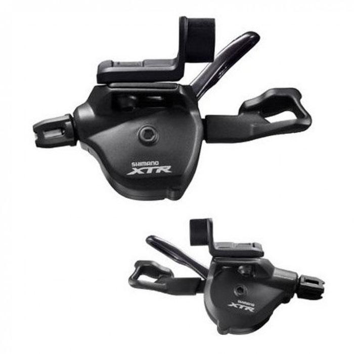 Шифтер Shimano XTR M9000, 2/3x11 скоростейISLM9000IPAКомплект шифтеров Shimano Rapidfire PLUS XTR SL-M9000 I-spec II (крепление в тормозную ручку), в комплекте трос и оплетка.