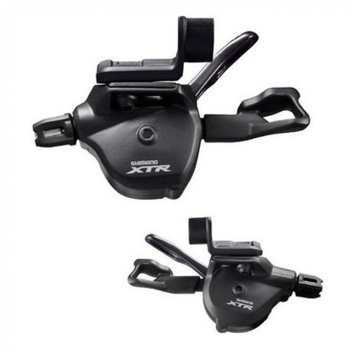 Шифтер Shimano XTR M9000, 2/3x11 скоростей shimano x t r sl m9000 thumb shifter left