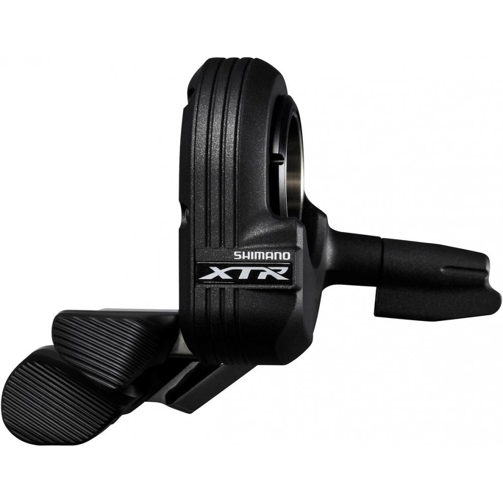 Шифтер Shimano XTR Di2 M9050, для переднего переключателяISWM9050LМанетка Shimano XTR Di2 обеспечивает мгновенное и точное переключение без натягивания троса - легкого, как щелчок мышки касания, достаточно, чтобы передний или задний переключатель мгновенно переключился на нужную скорость.