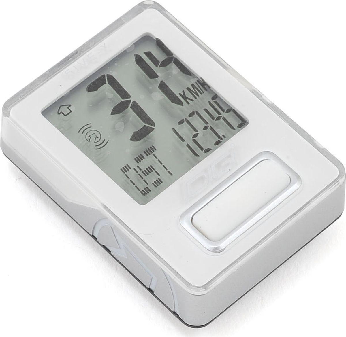 Велокомпьютер Pro Digi 5IVE, проводной, 5 функций, цвет: белыйPRCC0008Функции: текущая скорость, текущее расстояние, часы с секундомером, точность скорости до десятых долей (0,1 км/ч), точность дистанции до 10 метров (0,01 км)