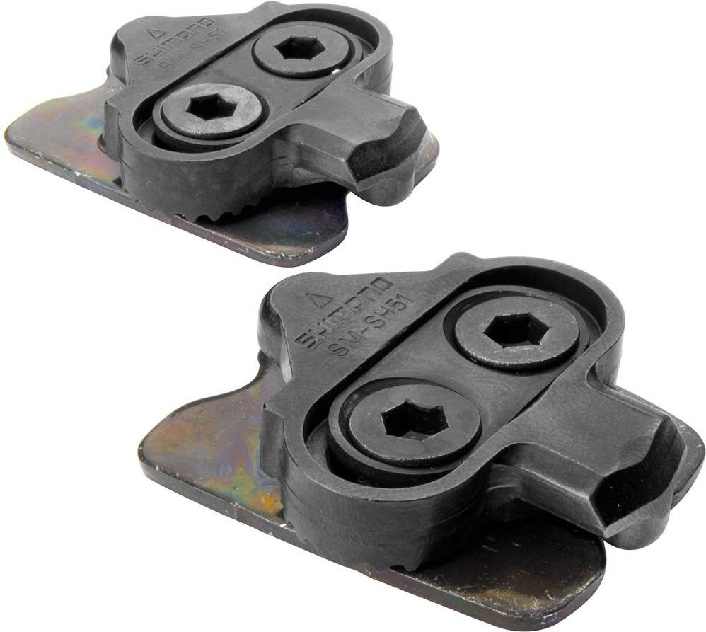 Шипы Shimano SH51, SPD, Single releaseY42498220Шипы Shimano SPD SM-SH51, с гайками шипа, пара. Для однонаправленного отстегивания и легкого пристегивания.