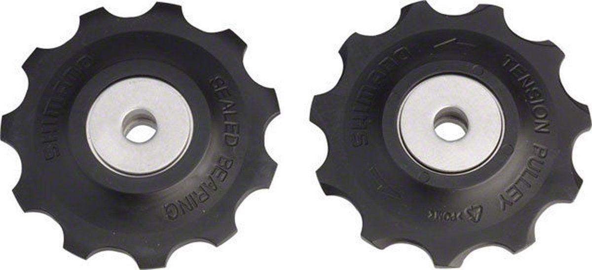 Ролики Shimano, 10 скоростей, верхние и нижние, к RD-M773/M780/M786Y5XF98130Ролики, 10ск, верхн+нижн, к RD-M773/M780/M786