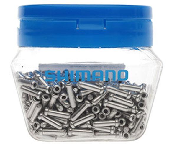 Концевик троса переключения Shimano, 1,1/1,2 мм, 500 штY62098035Запчасть к тросу или оплетке концевик Shimano размером 1,1/1,2 мм выполнен из высококачественного металла. В комплекте 500 шт.