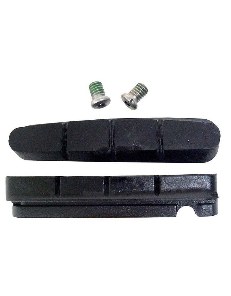 Вкладыш тормозных колодок Shimano R55C3, шоссейный, для карбонового ободаY8FN98140Вкладыш торм. кол., шоссейн., R55C3, для карбон. обода