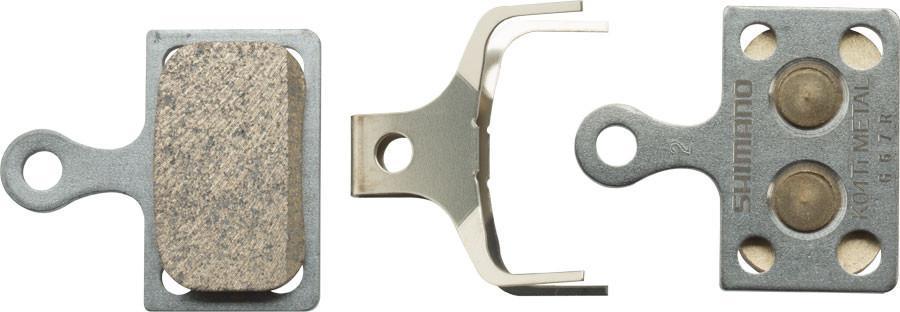 Тормозные колодки Shimano K04Ti, для дисковых тормозов