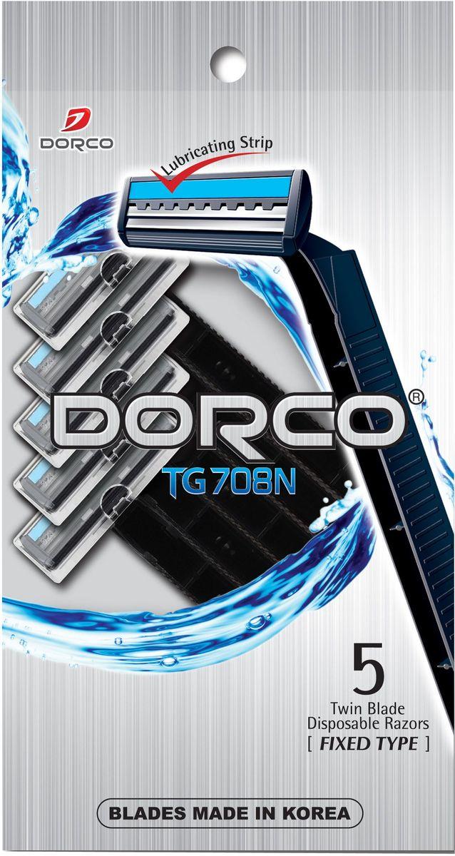 Dorco Cтанки для бритья Dorco 2, c увлажняющей полоской, одноразовые, 5+1 шт.851214Станок обеспечивает комфортное бритье, не вызывая раздражения. Фиксированная бреющая головка с удобным углом наклона. Пластиковая удобная ручка. Первое лезвие вытягивает ваши волоски, в то время как второе лезвие их срезает, создавая идеальное бритье. ГОСТ Р 51243-99. Лезвие не вытирать. Не использовать в целях, отличающихся от прямого назначения продукта. Беречь от детей. Хранить в сухом, недоступном для детей месте.