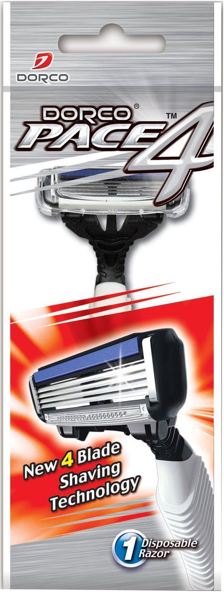 Dorco Станок для бритья Pace 4, одноразовый851225Cтанок с увлажняющей полоской и 4 лезвиями обеспечивает идеальное и чистое бритье. Лезвия легко промываются. Плавающая головка с фронтальным креплением обеспечивает гладкое и чистое бритье. Эргономичная ручка с нескользящей поверхностью позволяет легко удерживать станок. ГОСТ Р 51243-99. Лезвие не вытирать. Не использовать в целях, отличающихся от прямого назначения продукта. Беречь от детей. Хранить в сухом, недоступном для детей месте.