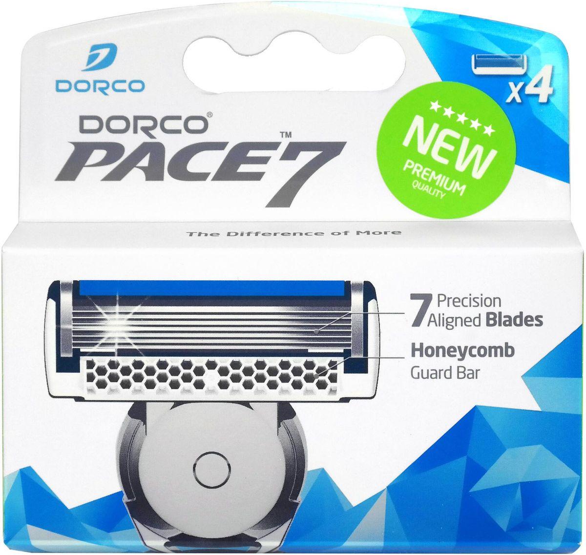 Dorco Kассеты для бритья  Pace 7 , 4 шт. - Бритье и депиляция