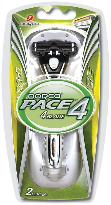 Dorco Cтанок для бритья Pace 4, 2 сменные кассеты851237Станок с увлажняющей полоской и 4 лезвиями обеспечивает идеальное и чистое бритье. Плавающая головка с фронтальным креплением,обеспечивая гладкое и чистое бритье. Эргономичная ручка с нескользящей поверхностью позволяет легко удерживать станок. ГОСТ Р 51243-99. Лезвие не вытирать. Не использовать в целях, отличающихся от прямого назначения продукта. Беречь от детей. Хранить в сухом, недоступном для детей месте.
