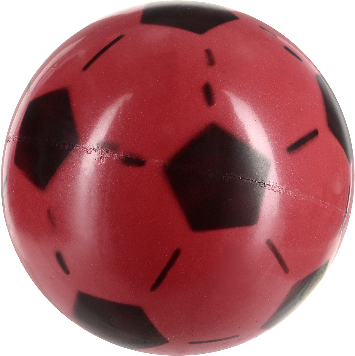 Забияка Мяч Футбольный цвет красный 20 см