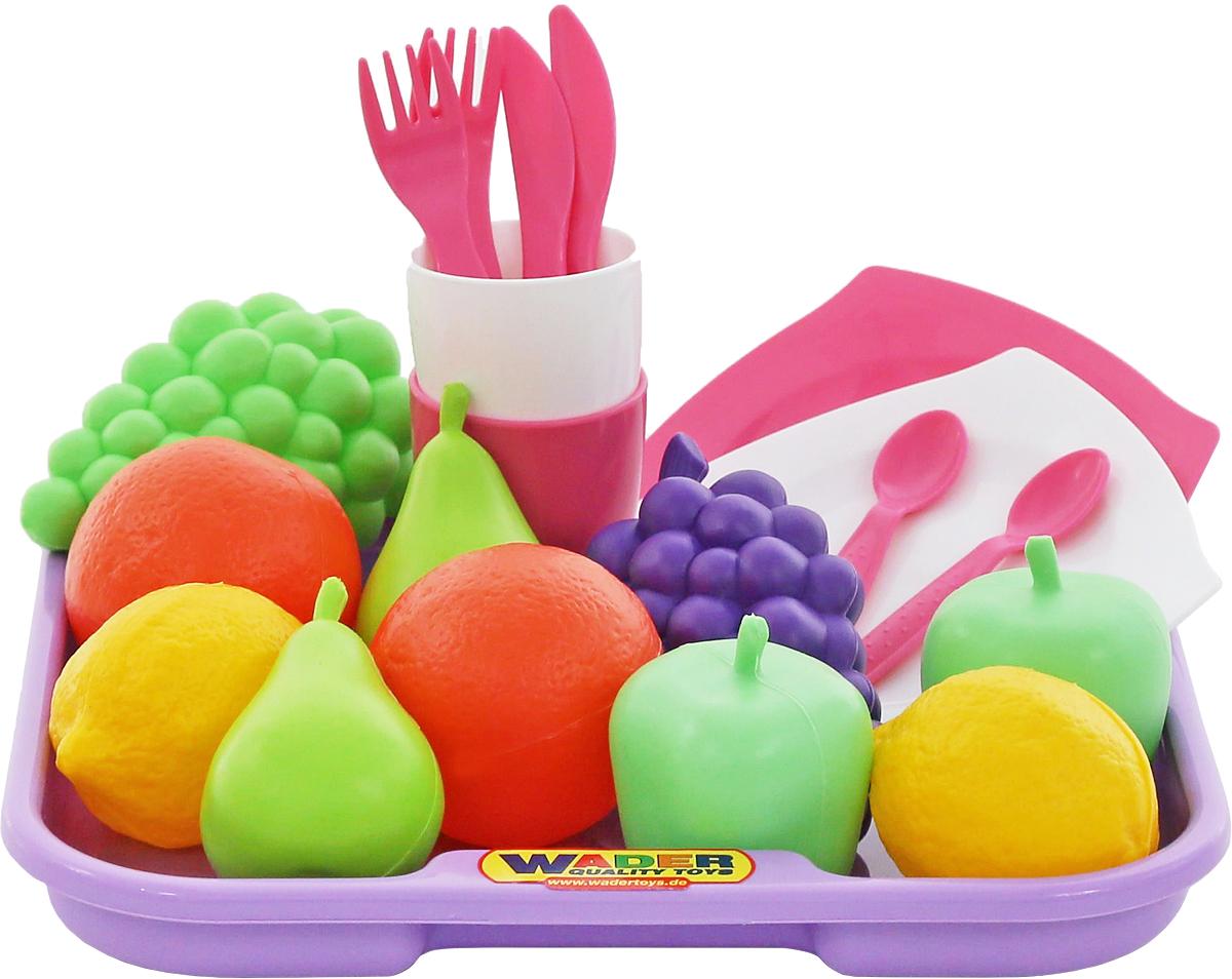 Полесье Игрушечный набор продуктов №2 с посудой и подносом ролевые игры шкода набор 2