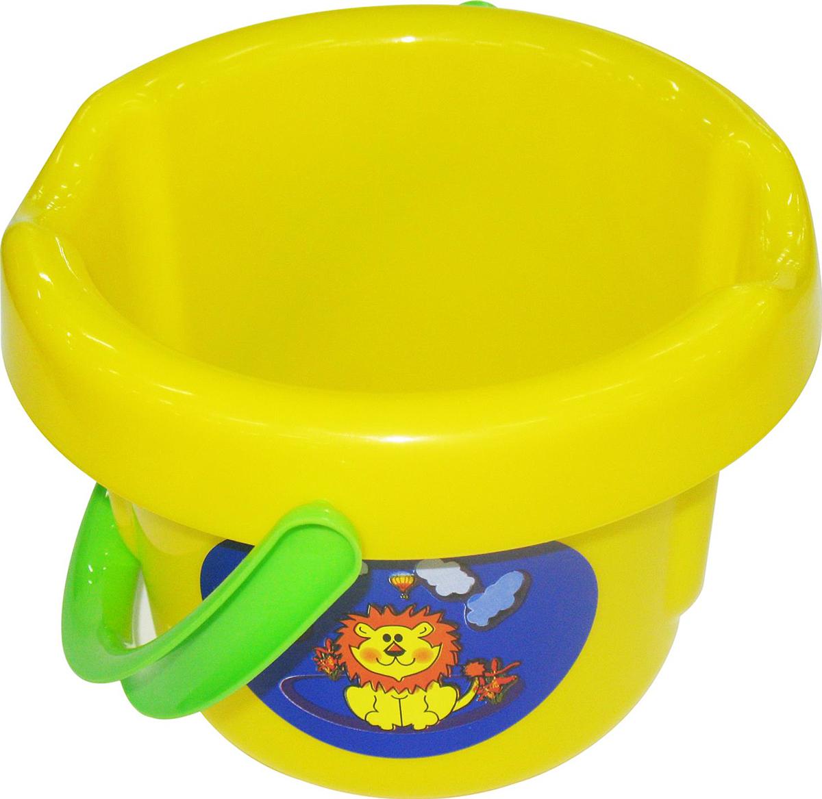 Полесье Игрушка для песочницы Ведро большое полесье игрушка для песочницы формочки замок 2 шт 57488