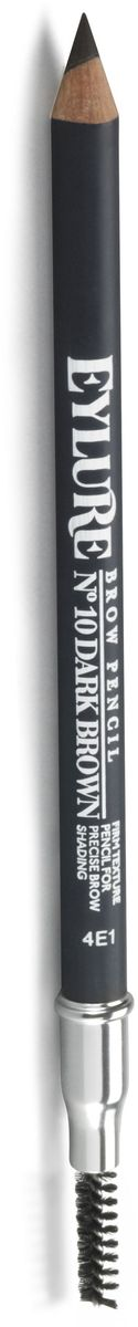 Eylure Карандаш для бровей, тон 10 темно-коричневый, 1,2 г eylure воск для фиксации бровей tame