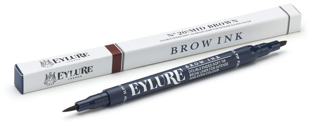 Eylure Маркер для бровей, тон 20 коричневый, 12 г6008109Маркер для бровей 20 Коричневый