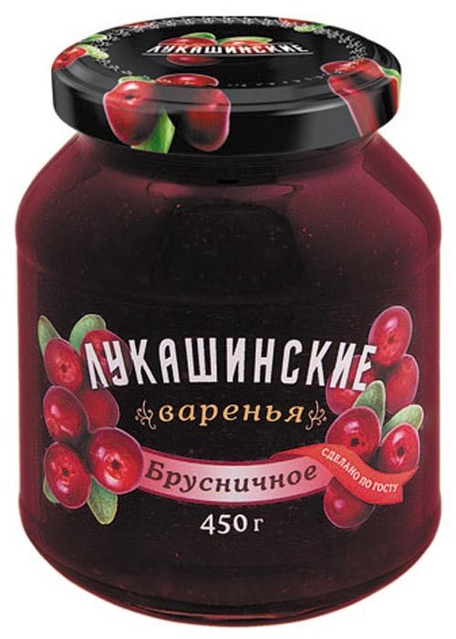 Лукашинские варенье брусничное, 450 г лукашинские варенье абрикосовое 450 г