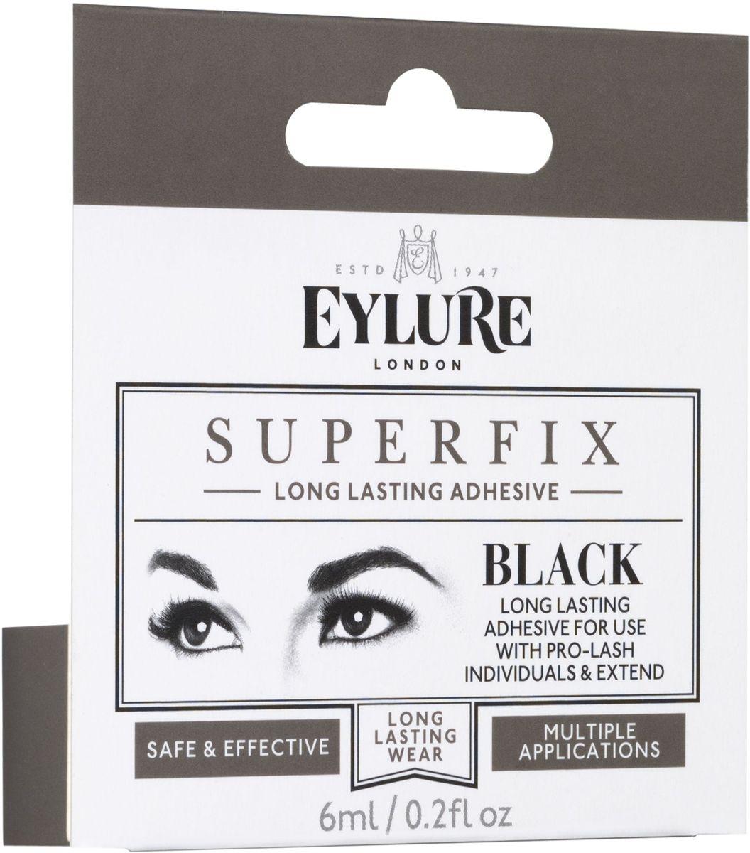 Eylure Клей для наращивания пучков и ресниц, цвет: черный, 6 мл