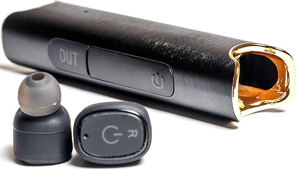 Mettle TWS-S2, Black беспроводные наушникиTWS-S2 BlackВодонепроницаемые стерео наушники без проводов теперь возможны! Mettle TWS-S2 позволят вам легко и быстро синхронизировать смартфоны, планшеты и другие музыкальные устройства. Bluetooth с усовершенствованной технологией аудиодекодирования обеспечивает беспроводное подключение к вашему смартфону или к другим Bluetooth-устройствам. Сверхмалые водонепроницаемые стереофонические беспроводные наушники с высоким качеством звука. Гладкая и инновационная портативная система зарядки в в алюминиевом корпусе. 2 в 1 Bluetooth-гарнитура и зарядное устройство. Высокое качество, современный дизайн и три красочных цвета. Специальная технология уменьшает внешние шумы, что позволяет четко слышать звук динамика.