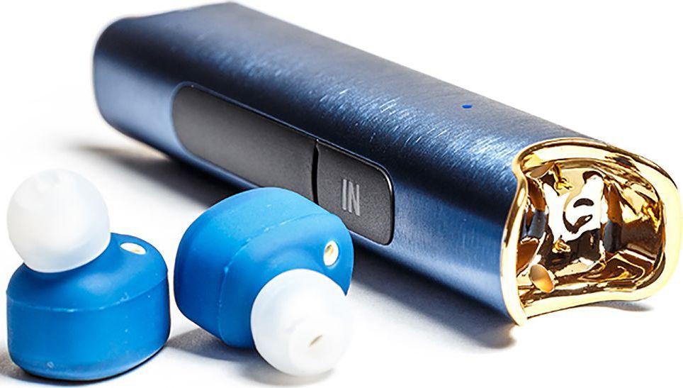 Mettle TWS-S2, Blue беспроводные наушникиTWS-S2 BlueВодонепроницаемые наушники без проводов теперь возможны! Mettle TWS-S2 - сверхмалые стереофонические водонепроницаемые беспроводные наушники с высоким качеством звука. Bluetooth с усовершенствованной технологией аудиодекодирования обеспечивает беспроводное подключение к вашему смартфону и к другим Bluetooth устройствам. Специальная технология уменьшает внешние шумы, что позволяет четко слышать звук динамика.
