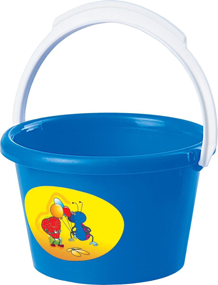 Полесье Игрушка для песочницы Ведро среднее полесье игрушка для песочницы грабельки 7