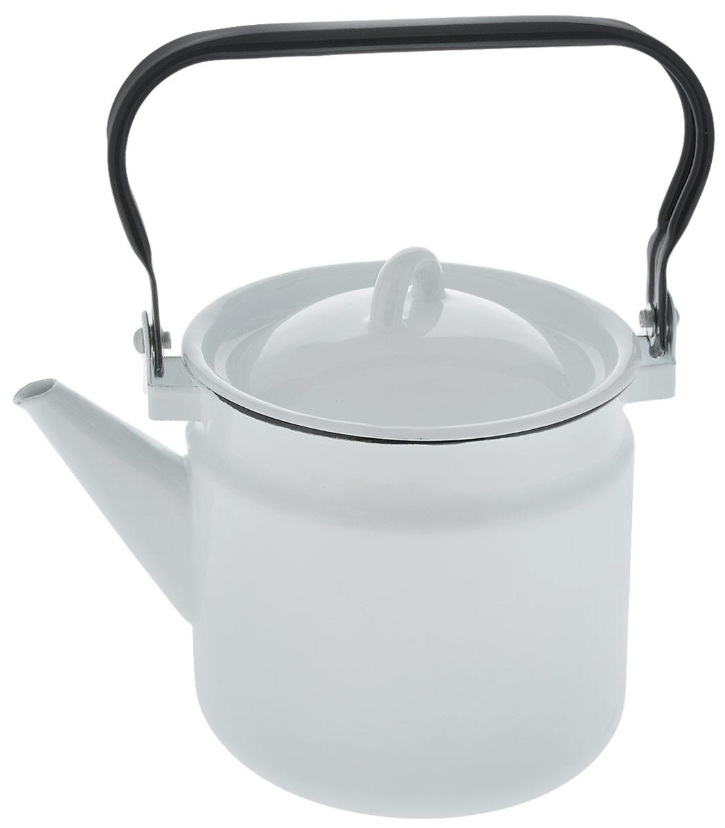 Чайник  СтальЭмаль , цвет: белый, 2 л. 2с25 - Посуда для приготовления