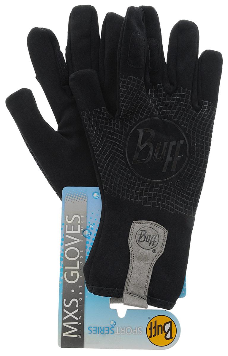 Перчатки рыболовные Buff MXS Black, цвет: черный. 108438.00. Размер L/XL (8-8,5)MXS BlackТехнологичные рыболовные перчатки. Полностью с закрытыми пальцами. Выполнены из стрейтчевой ткани, комфортно облегающей кисть руки. Ладонь перчатки покрыта силиконовым принтом. Фактор защиты от солнца UPF 50+. Удлиненная манжета. Состав: 95% нейлон, 5% лайкра; принт на ладони: 100% силикон, трикотаж.