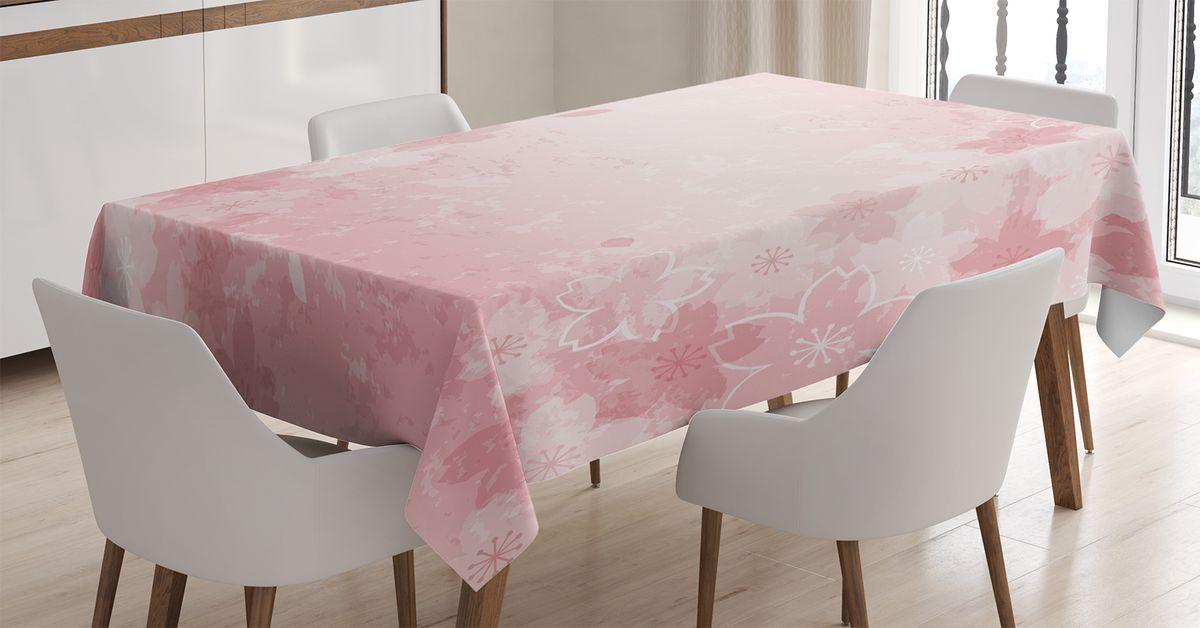Скатерть Magic Lady, прямоугольная, цвет: белый, розовый, 180 х 145 см. tc_14309_180x145tc-14309-180x145Оригинальная фотоскатерть от Magic Lady украсит ваш дом. Изделие выполнено из высококачественного сатена (полиэстер 100%). При изготовлении используются специальные гипоаллергенные чернила для прямой печати по ткани, безопасные для человека и животных. Экологичность продукции Magic Lady и безопасность для окружающей среды подтверждены сертификатом Oeko-Tex Standard 100. Внимание! При нанесении сублимационной печати на ткань технологическим методом при температуре 240 С, возможно отклонение полученных размеров (указанных на этикетке и сайте) от стандартных на + - 3-5 см. Мы стараемся максимально точно передать цвета изделия на наших фотографиях, однако искажения неизбежны и фактический цвет изделия может отличаться от воспринимаемого по фото.