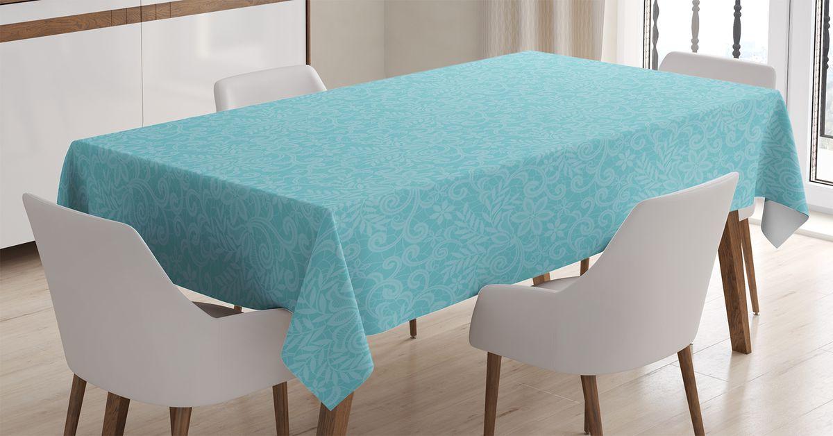 Скатерть Magic Lady, прямоугольная, цвет: голубой, 120 х 145 см. tc_15727_120x145tc-15727-120x145Оригинальная фотоскатерть от Magic Lady украсит ваш дом. Изделие выполнено из высококачественного сатена (полиэстер 100%). При изготовлении используются специальные гипоаллергенные чернила для прямой печати по ткани, безопасные для человека и животных. Экологичность продукции Magic Lady и безопасность для окружающей среды подтверждены сертификатом Oeko-Tex Standard 100. Внимание! При нанесении сублимационной печати на ткань технологическим методом при температуре 240 С, возможно отклонение полученных размеров (указанных на этикетке и сайте) от стандартных на + - 3-5 см. Мы стараемся максимально точно передать цвета изделия на наших фотографиях, однако искажения неизбежны и фактический цвет изделия может отличаться от воспринимаемого по фото.