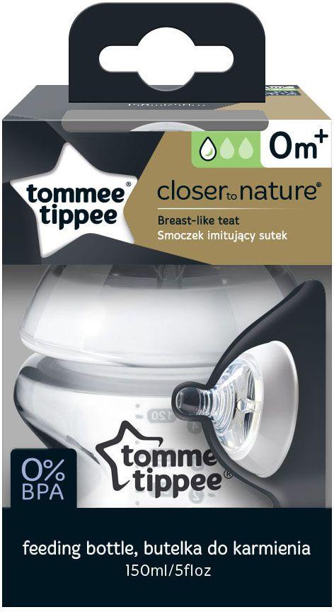 Tommee Tippee бутылочка для кормления с антиколиковым клапаном 150 мл