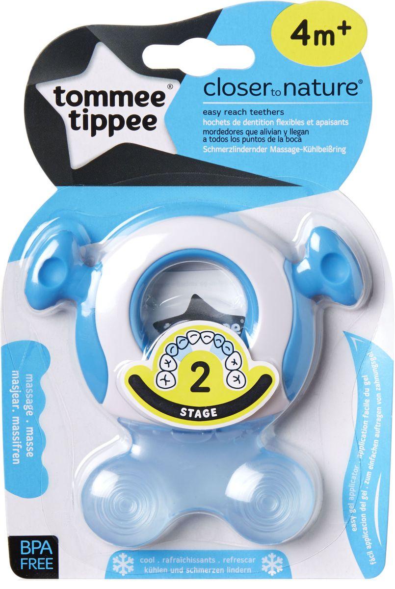 Tommee Tippee Прорезыватель охлаждающий Стадия 2 цвет голубой