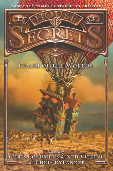 House of Secrets: Clash of the Worlds herbert george wells the war of the worlds