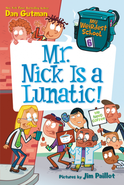 My Weirdest School #6: Mr. Nick Is a Lunatic! 40cm 12w acryl aluminum led wall lamp mirror light for bathroom aisle living room waterproof anti fog mirror lamps 2131