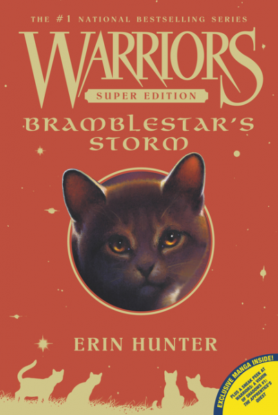 Warriors Super Edition: Bramblestar's Storm hunter е warriors omen of the stars 1 the fourth apprentice