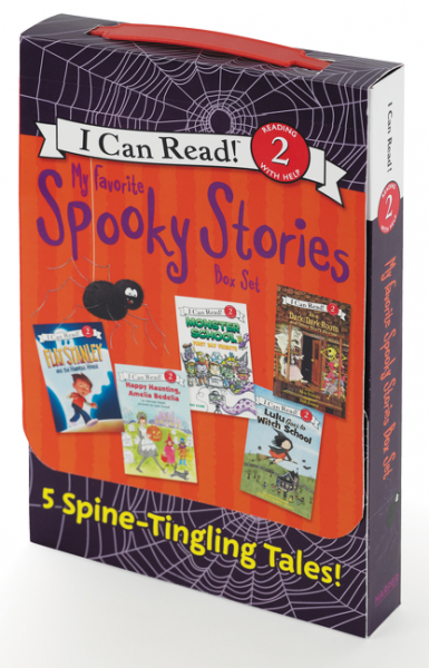 My Favorite Spooky Stories Box Set my weird school goes to the museum level 2