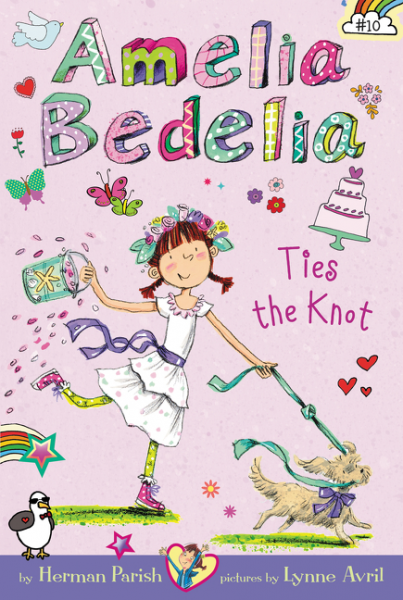 Amelia Bedelia Chapter Book #10: Amelia Bedelia Ties the Knot twister family board game that ties you up in knots