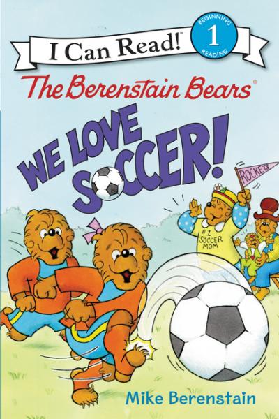 купить The Berenstain Bears: We Love Soccer! по цене 355 рублей