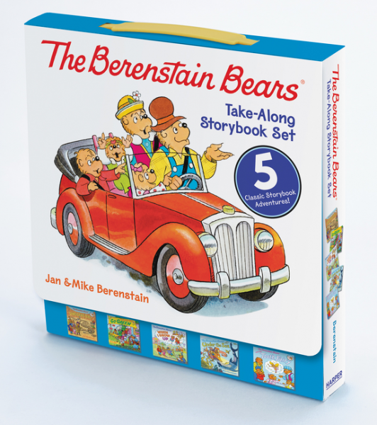 The Berenstain Bears (комплект из 5 книг) 4 in 1 stainless steel foldable camping cutlery