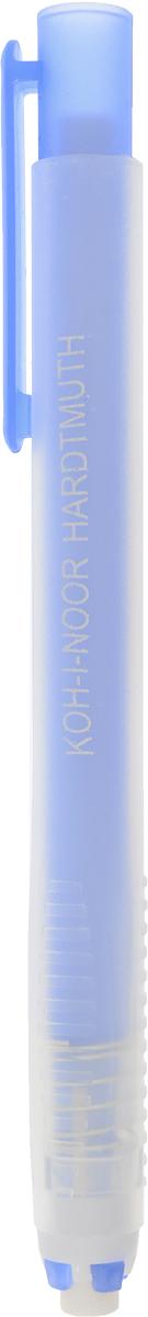 Koh-I-Noor Ластик выдвигающийся цвет синий9736000002PS_синийМеханический пластиковый карандаш со стержнем-ластиком, подходит для цветных и чернографитных карандашей.
