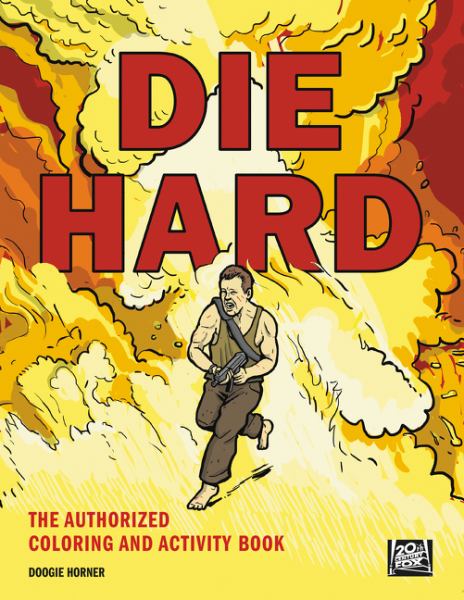 Die Hard die hard the official colouring book
