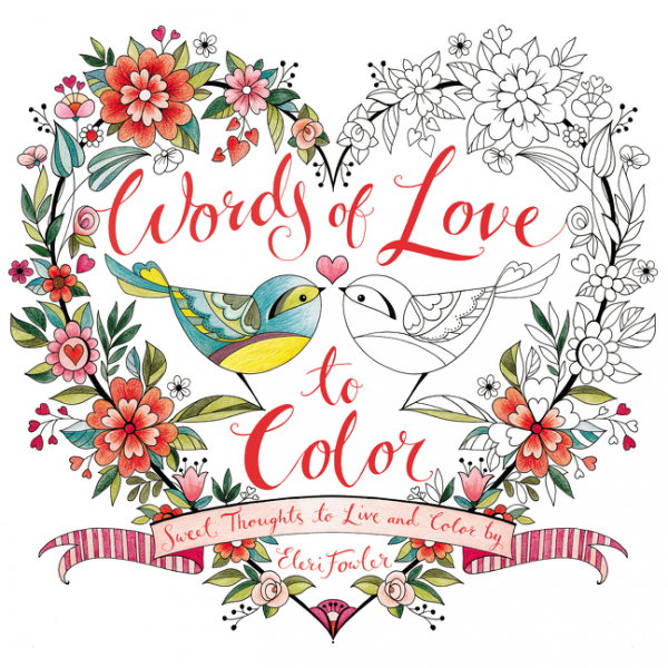 Words of Love to Color waterproof creative words letters i love travel wall stickers