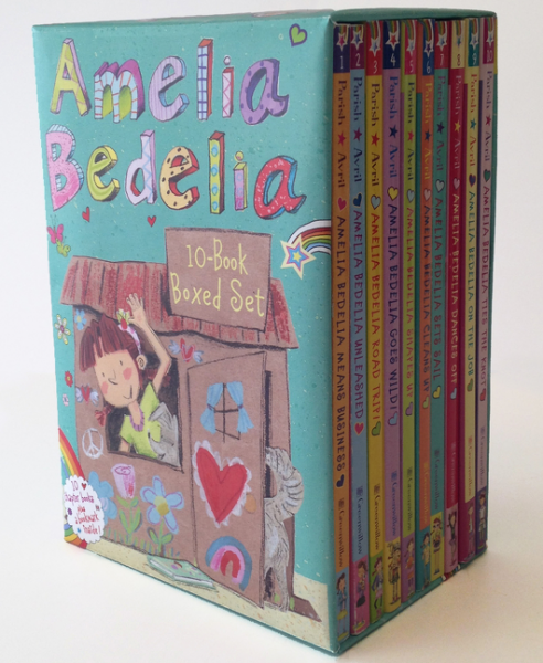 Amelia Bedelia Chapter Book 10-Book Box Set the last camel died at noon amelia peabody book 6