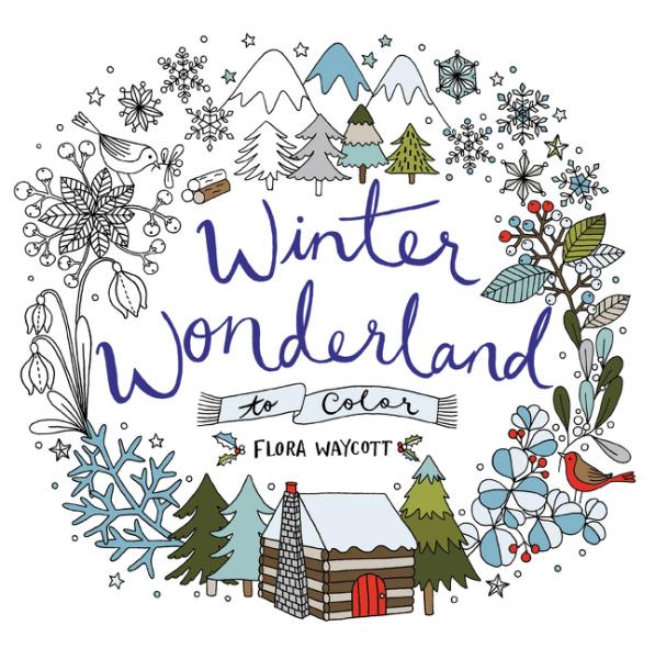 Winter Wonderland to Color