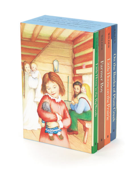 Little House 4-Book Box Set the little lady of the big house