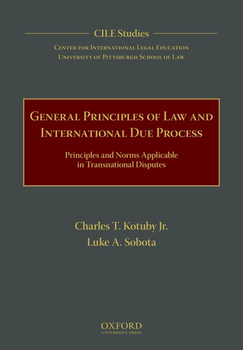 General Principles of Law and International Due Process principles of international marketing