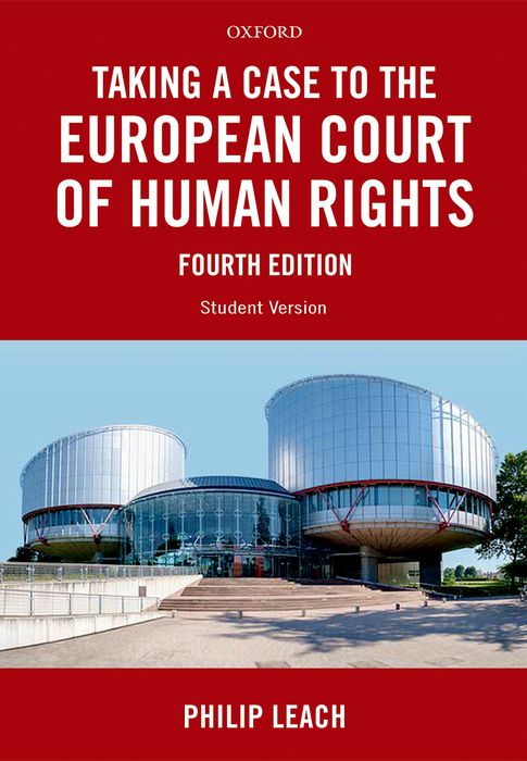 Taking a Case to the European Court of Human Rights a casebook on european consumer law