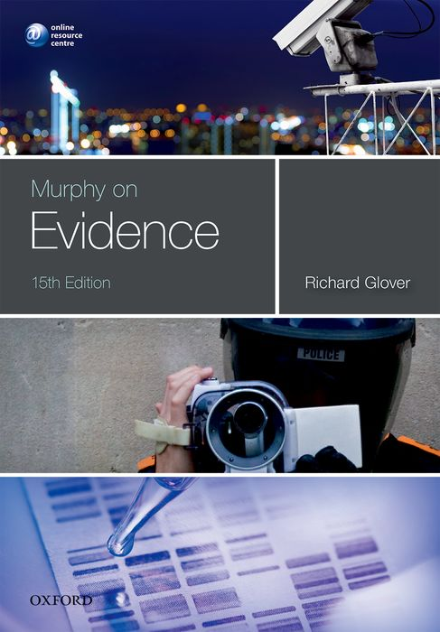 Murphy on Evidence cases materials and text on consumer law