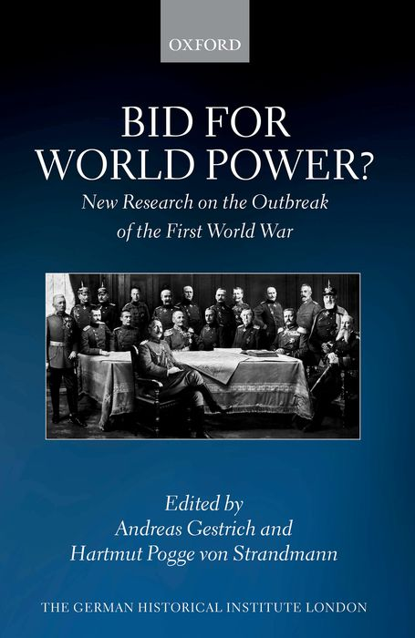 Bid for World Power? the economics of world war i