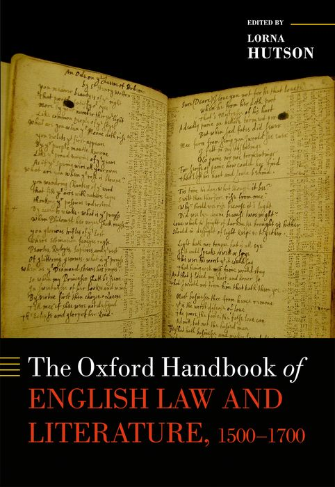 The Oxford Handbook of English Law and Literature, 1500-1700 a literary history of persia volume iv modern times 1500 1924