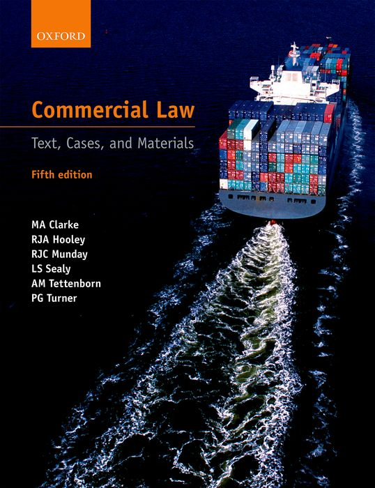 Commercial Law cases materials and text on consumer law